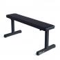 FITHAM Posilovací lavice rovná PROFI černá