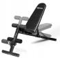 Posilovací lavice FLOW Fitness SMB50 z profilu - možnost polohování