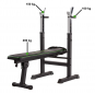 TUNTURI WB20 Basic Weight Bench nosnosti