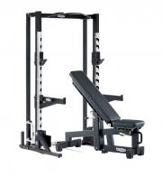 Posilovací lavice TECHNOGYM OLYMPIC HALF RACK s ADJUSTABLE BENCH