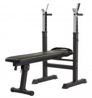 Bench lavice se stojany TUNTURI WB20 Basic Weight Bench