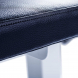 FITHAM Posilovací lavice rovná PROFI bílá koženka