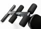 Posilovací lavice FLOW Fitness SMB50 opěrky pro nohy