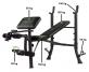 TUNTURI WB40 Basic Weight Bench nosnosti